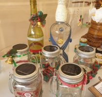 Solar fairy light jars